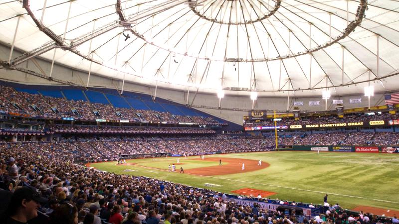 Party Bus Service Tropicana Field St Petersburg